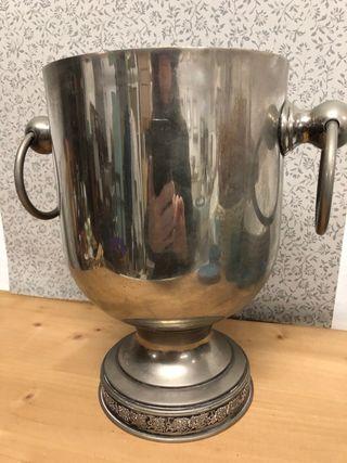 Cubitera vintage baño de plata