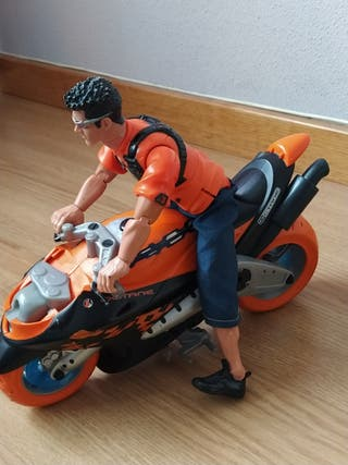 Action Man con moto