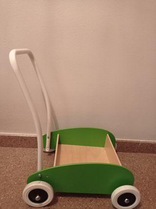 Carrito infantil Ikea