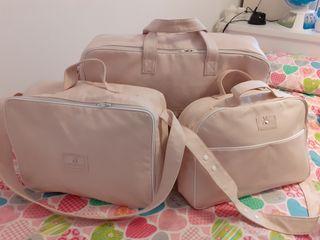 Conjunto maletas bebe pasito a pasito
