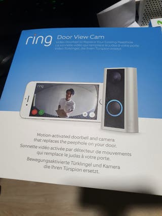 Mirilla electrónica wifi Ring Door View Cam