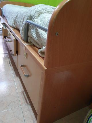 cama nido ideal para cuarto infantil/juvenil