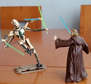 Obi-Wan Kenobi vs General Grievous Star Wars II