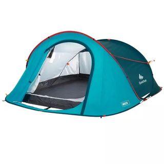 Tienda de campaña 2 seconds dos personas acampada