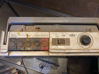 Radio grabadora Vintage Sanyo