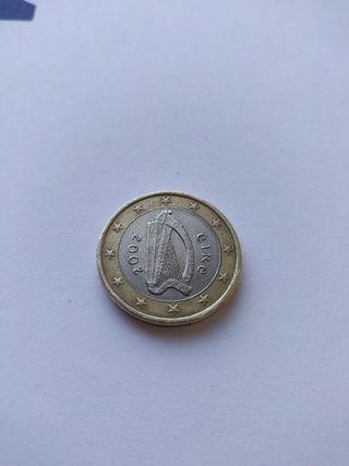 Moneda 1€ 2002 Irlanda