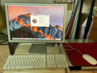 Apple Mac Pro 5.1 2010 + Monitor Apple + tecl+rato
