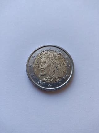 Moneda 2€ *2003* Dante Alighieri Italia