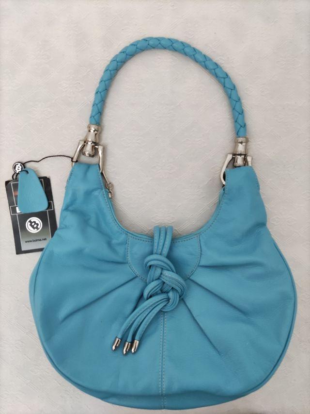 bolso azul nuevo