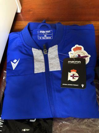 Chándal oficial RC deportivo de La Coruña