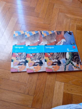 Libro de Lengua de 5 de Primaria. SM