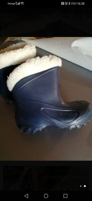 Botas para nieve