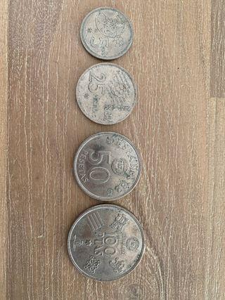 Monedas de mundial españa 82