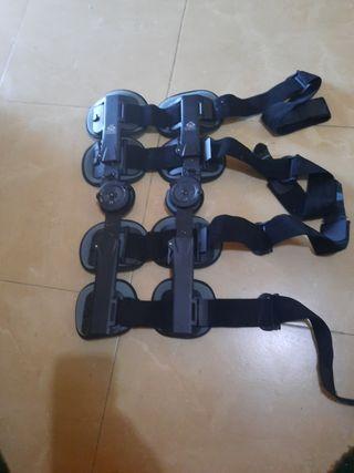 aparato ortopédico post operatorio rodilla