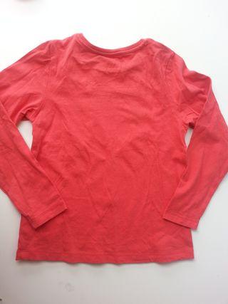 (d056) (3x2) Camiseta niña 7-8 años
