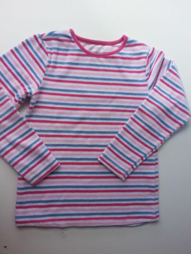 (d058) (3x2) Camiseta invierno niña 7 años
