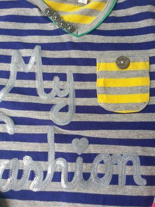 (d049) (3x2) Camiseta BÓBOLI 4 años