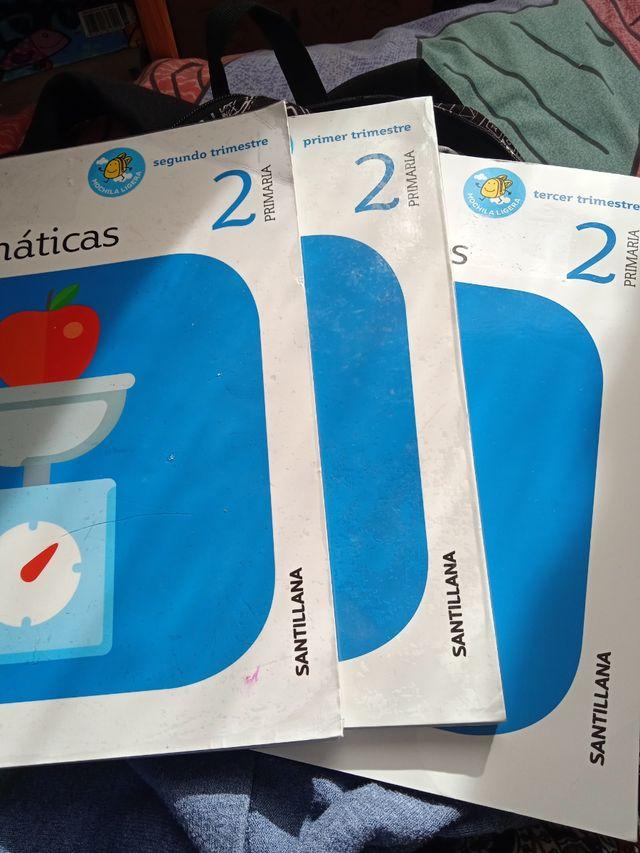 libros segunda mano, 2 Primaria Santillana.