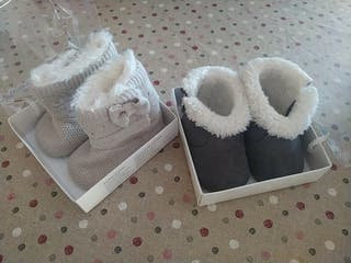 Pack botitas de recién nacida marca MAYORAL