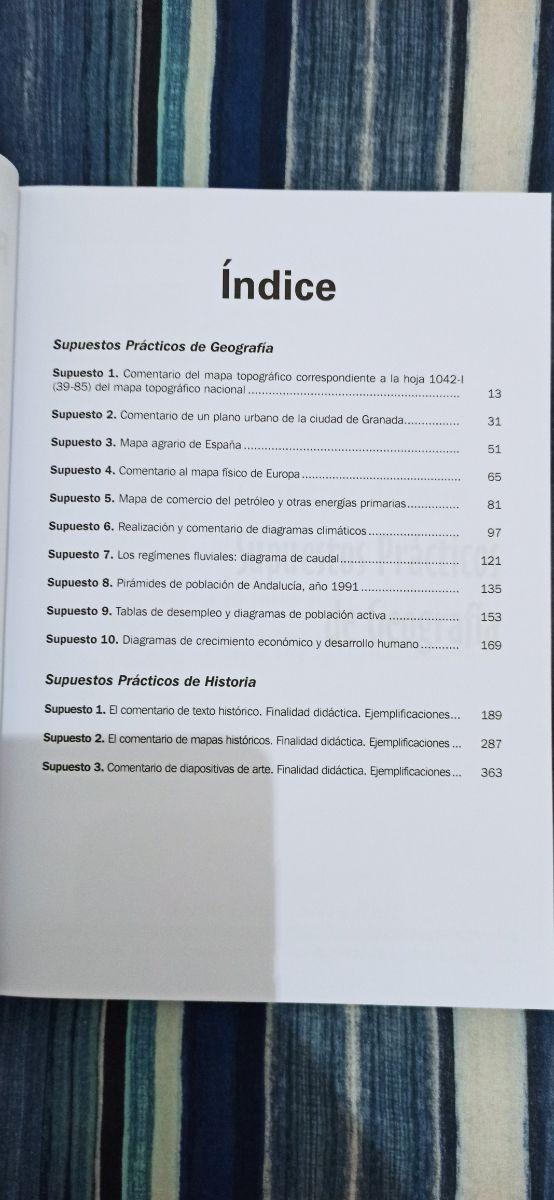 Oposiciones Geografía e Historia (parte práctica)