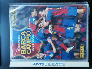 álbum megacracks Barça Campió 2004-05