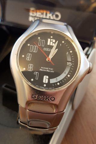 Reloj Seiko Kinetic Auto Relay CAL. 5J22