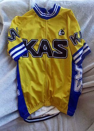 Maillot Kas Vintage Retro Ciclismo