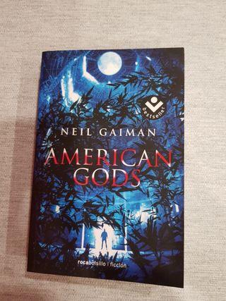 Libro American Gods (edición bolsillo)
