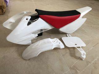 Kit de pastas y asiento pitbike