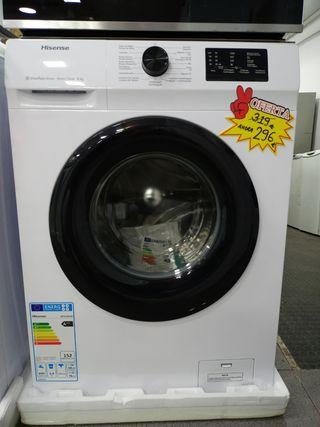 lavadora Hisense A+++ 6KG