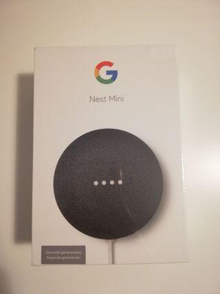 Asistente de Google Nest Mini