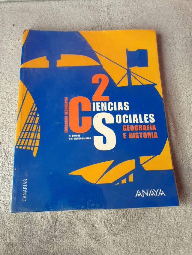 Libro de Geografía e Historia 2°ESO