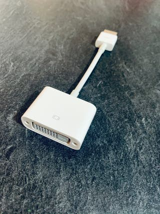 Adaptador de HDMI a DVI original Apple