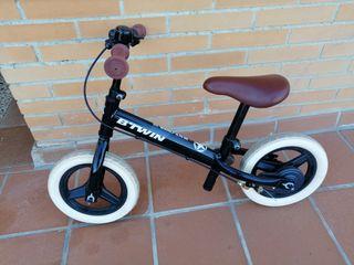 Bicicleta sin pedales infantil de 10 pulgadas