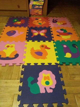 Alfombra Foam 10 piezas MAS MODELOS!!!