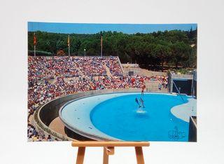 Postal del Zoo Casa de Campo - Madrid