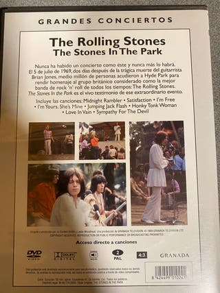 Dvd The Rolling Stones