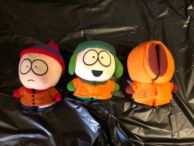 4 Peluches South Park Antiguos