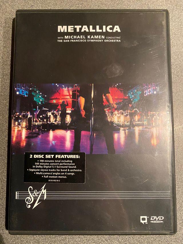 DVD Metallica