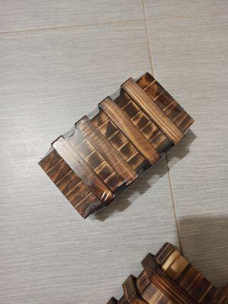 caja magica dos compartimentos