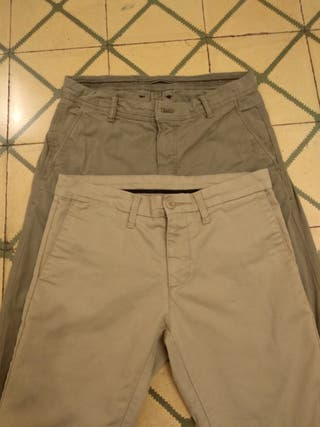 Pantalones chinos hombre