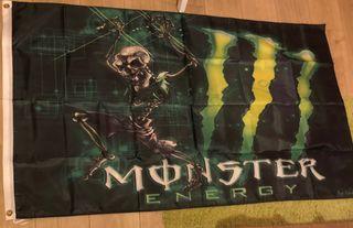Bandera monster energy 90cm x 150