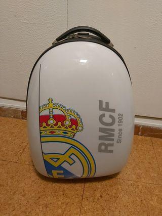 Maleta troley pequeña del Real Madrid