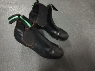 flamenco botines niño