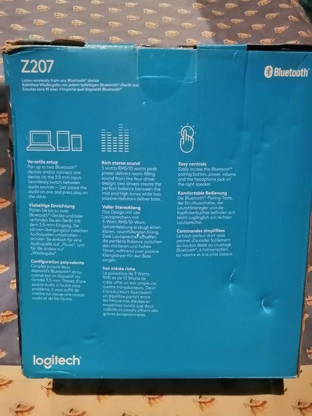 Logitech Bluetooth Speakers Z207