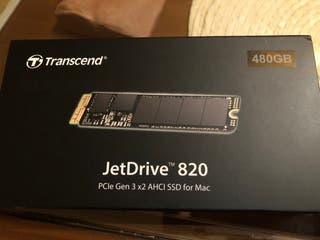 PCIe SSD 480GB para Mac
