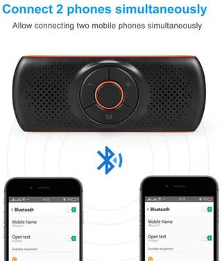 Altavoz Manos libres y Reproductor MP3 Bluetooth