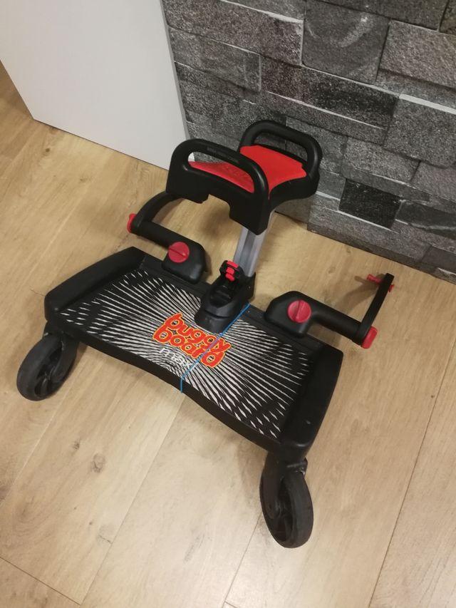 Plataforma buggy board con asiento Lascal
