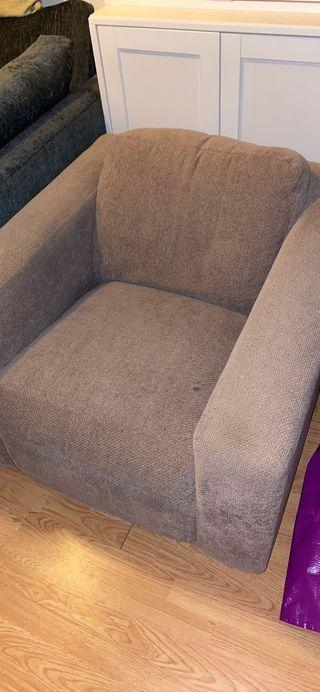 One seated sofa chair