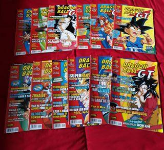 Revistas Dragon Ball GT Norma Editorial.